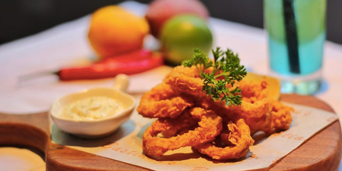 Calamari from Incline Bistro located in Minhang, Shanghai