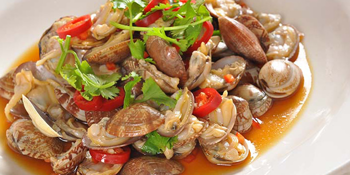 Clams from Hunan Country Cuisine located in Xuhui, Shanghai