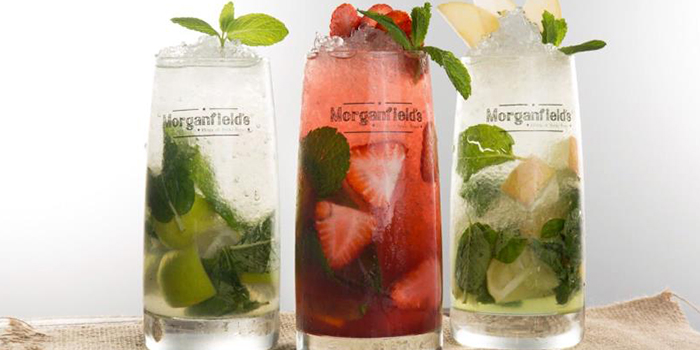 Cocktails from Morganfield