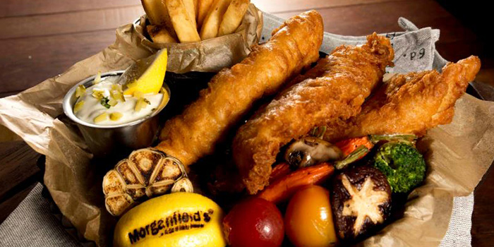Fish n Chips from Morganfield