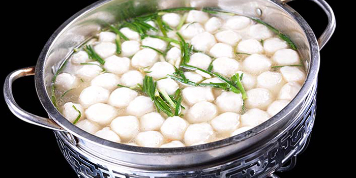 Fishballs from Hunan Country Cuisine located in Xuhui, Shanghai