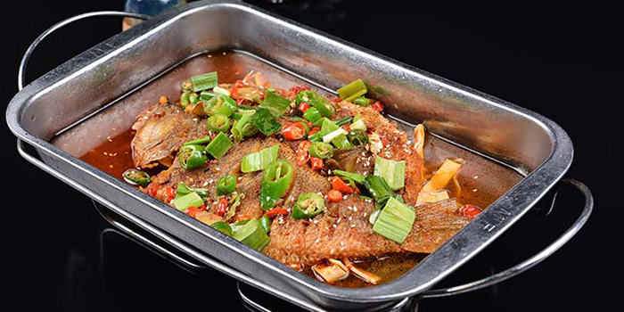 Grilled Fish from Hunan Country Cuisine located in Xuhui, Shanghai