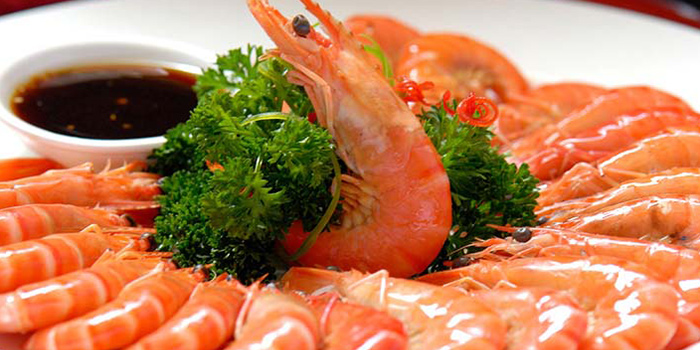 Prawns from Hunan Country Cuisine located in Xuhui, Shanghai