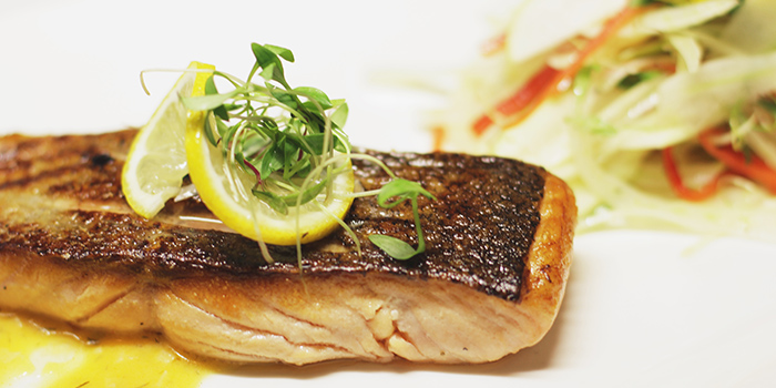 Salmon from Big Bamboo (Jinqiao) located in Pudong, Shanghai