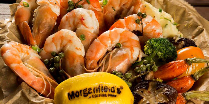 Shrimps from Morganfield