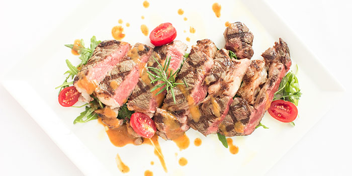Dishes of Isola Italian Bar + Grill located in Pudong, Shanghai