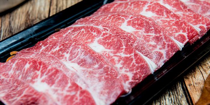 Beef from PHOENIX Hotpot Bar located in Minhang, Shanghai