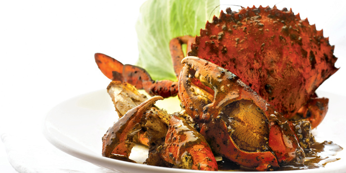 Black Pepper Crab from Capitaland X Chope - Chopebook demo located in Chaoyang, Beijing