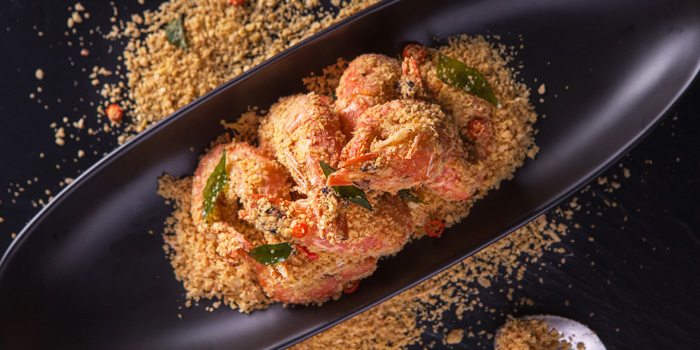 Cereal Prawns from Jumbo Seafood (Shanghai L
