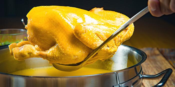 Chicken Broth from PHOENIX Hotpot Bar located in Minhang, Shanghai