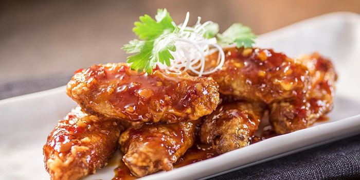 Chicken Wings from Wolfgang Puck (Xintiandi) located in Huangpu, Shanghai
