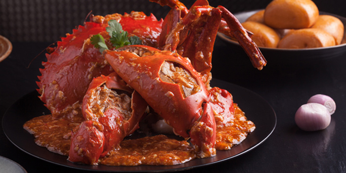 Chili Crab from Capitaland X Chope - Chopebook demo located in Chaoyang, Beijing