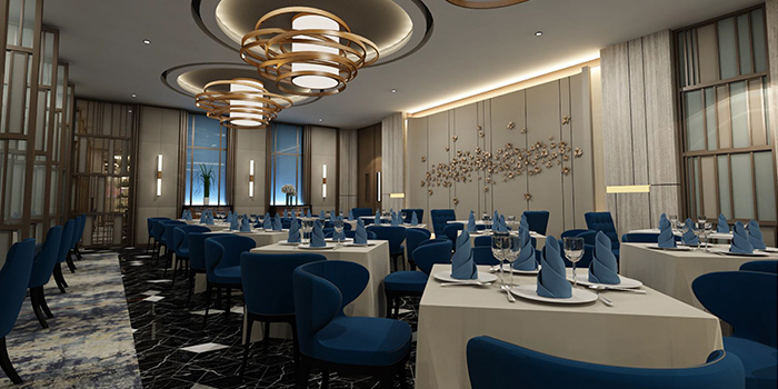 Dining Hall of Capitaland X Chope - Chopebook demo located in Chaoyang, Beijing