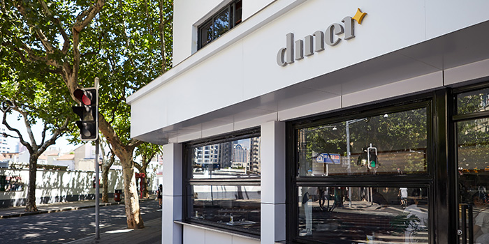 Exterior of Diner located in Xuhui, Shanghai