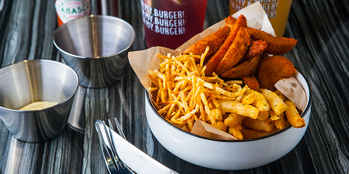 Fries Combo from Oh My Burger located in Xuhui, Shanghai