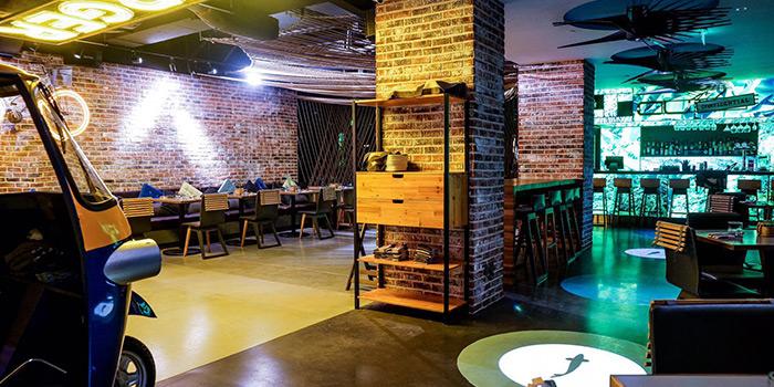 Interior of Kitchen 1502 - T for Thai & cu2+ located in Xuhui, Shanghai