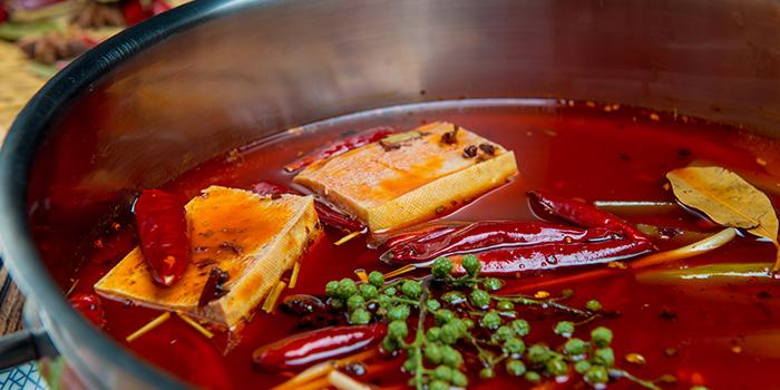 Mala Soup from PHOENIX Hotpot Bar located in Minhang, Shanghai