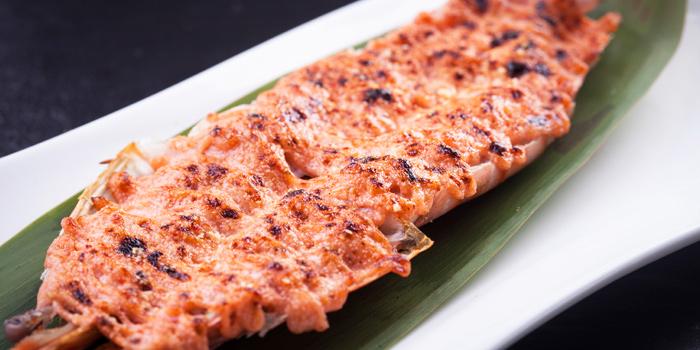 Mentaiko Prawns from Jumbo Seafood (Shanghai L