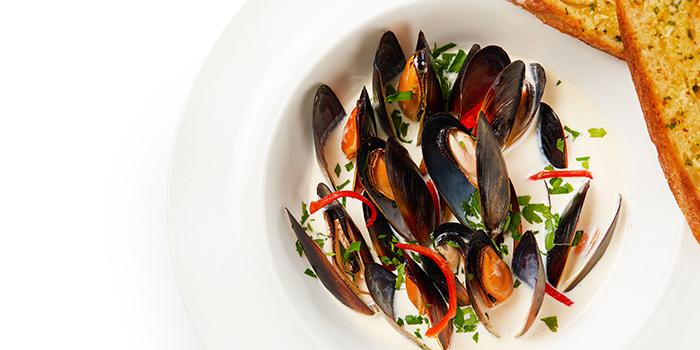 Mussels from EQ located in Huangpu, Shanghai