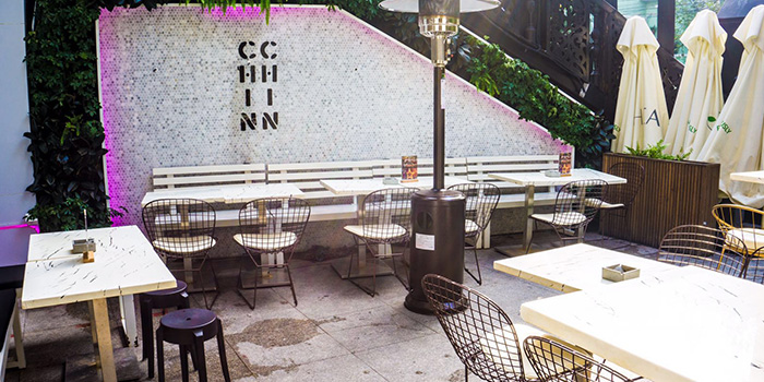Outdoor Area of Chin Chin by Wheat located in Xuhui, Shanghai