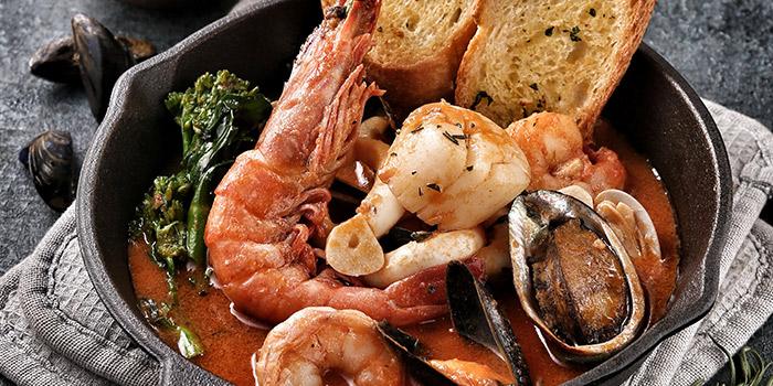 Seafood from Bianchi & Bella Ciao located on Jianguo Zhong Lu, Luwan, Shanghai