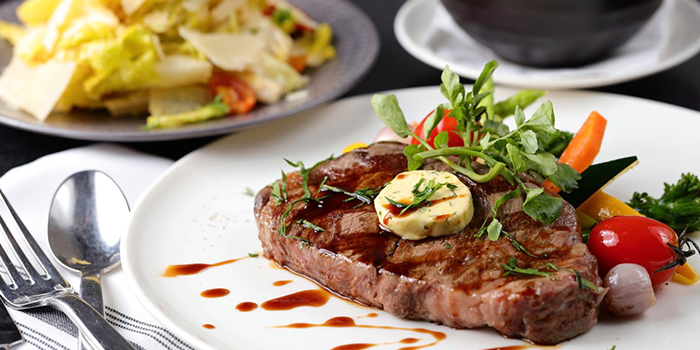 Steak from Wolfgang Puck (Xintiandi) located in Huangpu, Shanghai
