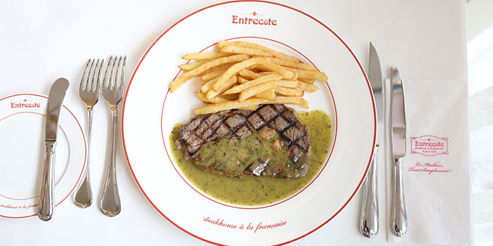 Steak of Entrecôte - Steakhouse à la Française located in Xuhui, Shanghai