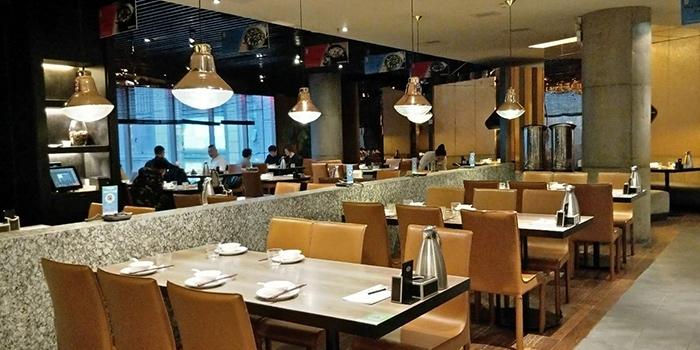 Interior of Tian La Green Fashion Restaurant (SML Center) located in Huangpu, Shanghai