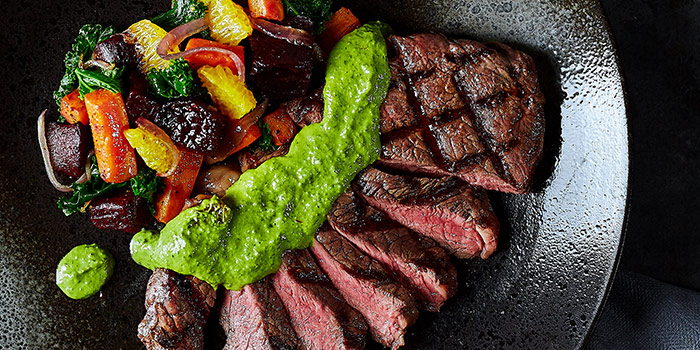 Steak strip from Element Fresh Disney Town located on Shendi Xi Lu, Pudong, Shanghai