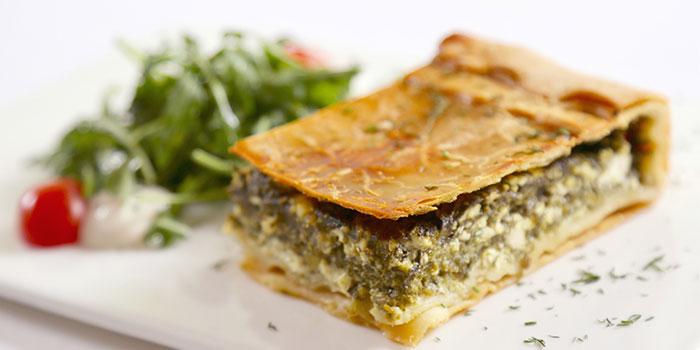 Dishes of Greek Taverna Milos located on Yueyang Lu, Xuhui District, Shanghai
