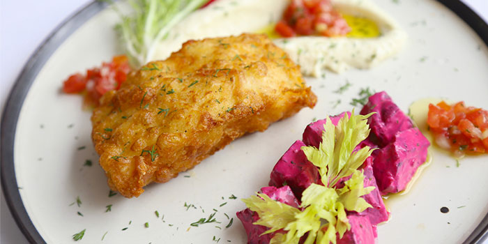 Fish of Greek Taverna Milos located on Yueyang Lu, Xuhui District, Shanghai