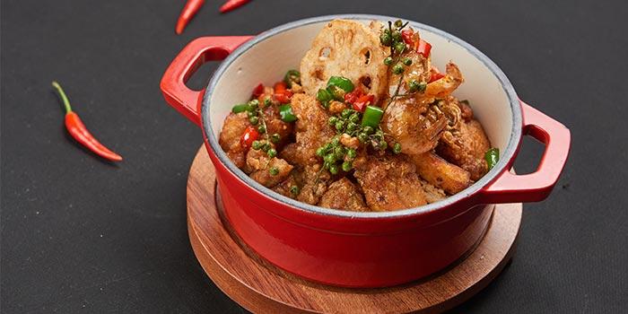 Food of Guyi Hunan Restaurant (IFC) located in Pudong, Shanghai
