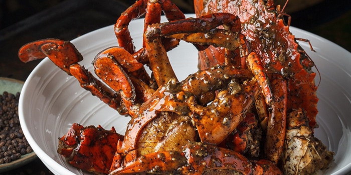 Black Pepper Crab from Jumbo Seafood (Shanghai L