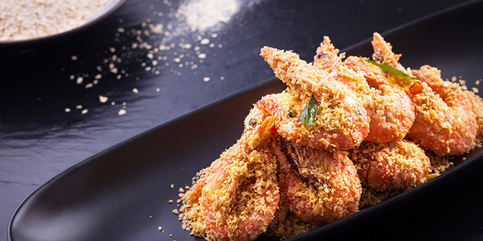 Cereal Prawns from Jumbo Seafood (IFC) located in Pudong, Shanghai
