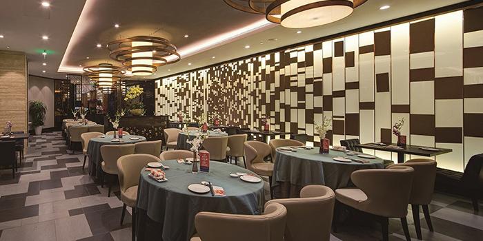 Interior of Jumbo Seafood (Beijing SKP) located in Chaoyang, Beijing