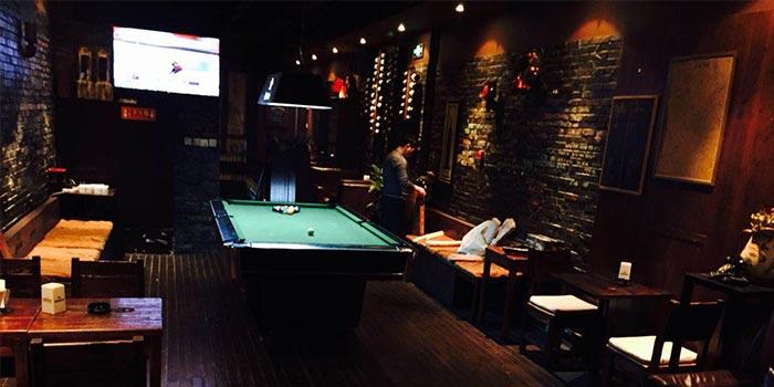 Indoors of Bar Gatsby located in Huangpu, Shanghai