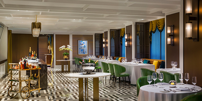 """Dining-Area of Bespoke(St.Regis Jing""""An) located in Jing""""An, Shanghai"""