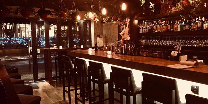 Indoor of Enoterra located in Xuhui, Shanghai