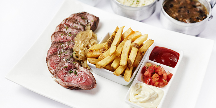 Steak from Boteco Brazilian Bar and Food located on Julu Lu, Jing