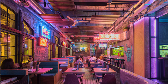 indoor of Daimon Gastrolounge located in Huangpu, Shanghai
