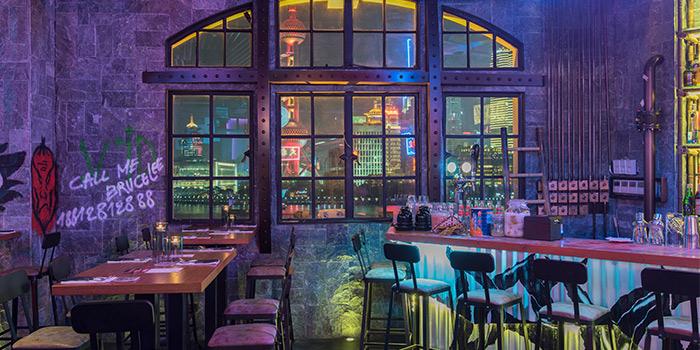 Interior of Daimon Gastrolounge located in Huangpu, Shanghai