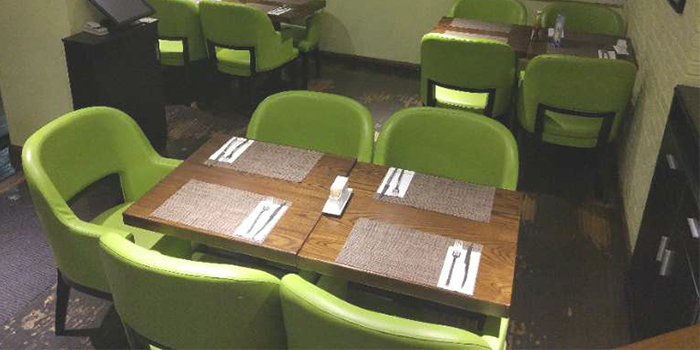 Dining-Area of New York Style Steak Burger in Tianzifang, Shanghai