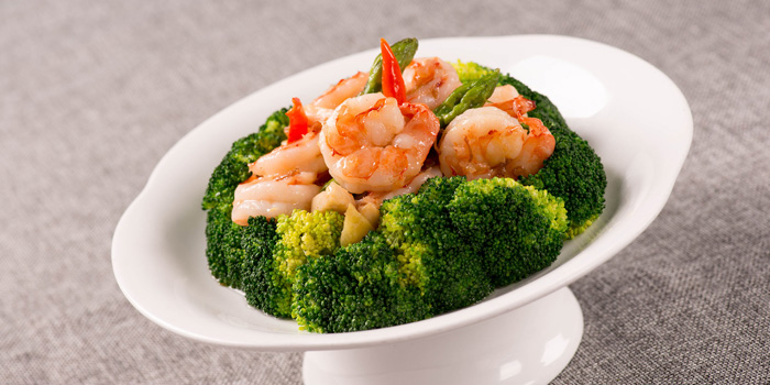 Shrimps of Guyi Hunan Restaurant (IFC) located in Pudong, Shanghai