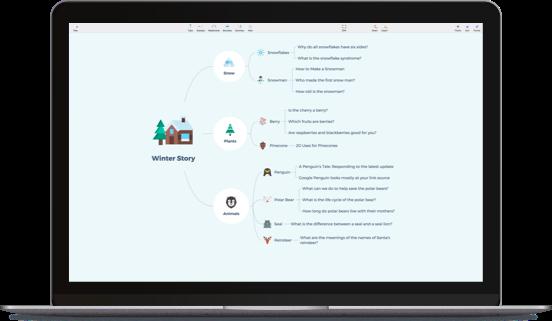 XMind: ZEN视频预览图。超赞!一款全新的思维导图软件。前往「立即下载」、「购买订阅」。