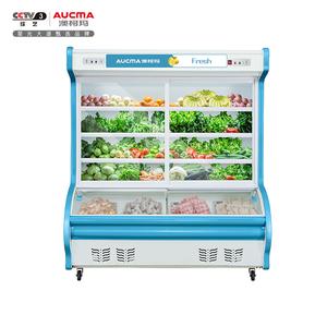 1.2米双门点菜柜 BCD-1200D 上冷藏下冷冻