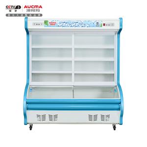 1.4米双门点菜柜 BCD-1400D 上冷藏下冷冻