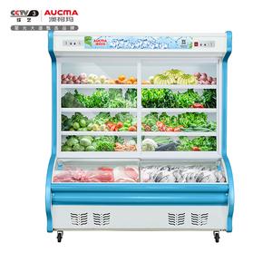 1.6米双门点菜柜 BCD-1600D 上冷藏下冷冻