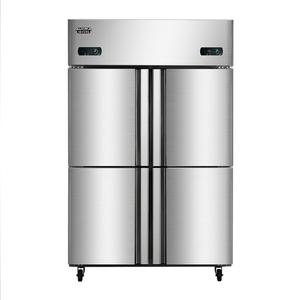 860升商用四门厨房冰箱VCF-860D4双温柜