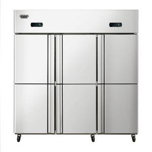 1300升商用六门厨房冰箱VF-1300D6 全冷冻