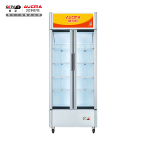 立式双门商用展示柜 陈列柜 LSC-519D